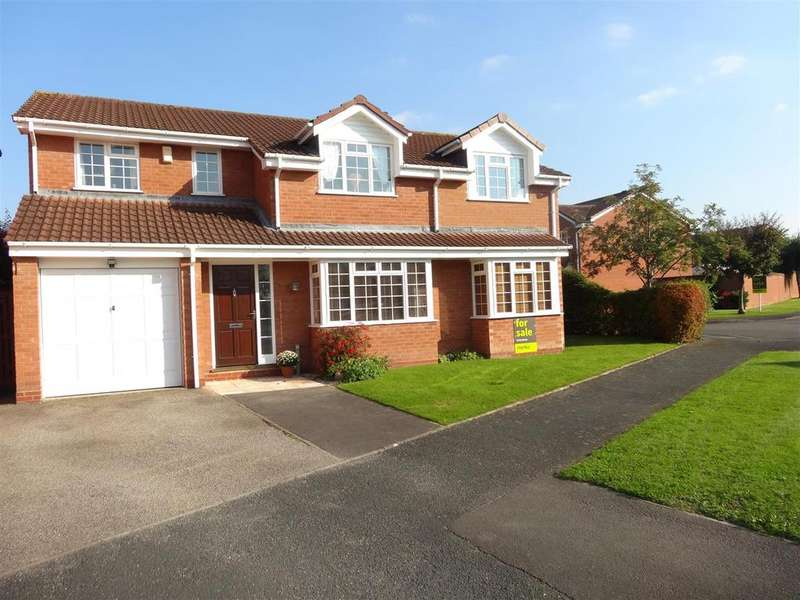 5 Bedrooms Detached House for sale in Oswell Road, Shrewsbury
