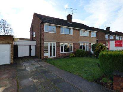 3 Bedrooms Semi Detached House for sale in Tiverton Avenue, Stafford
