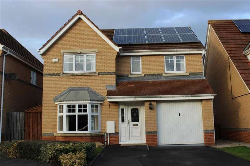 4 Bedrooms Detached House for sale in Caesar Way, St Peters Park, Wallsend, NE28