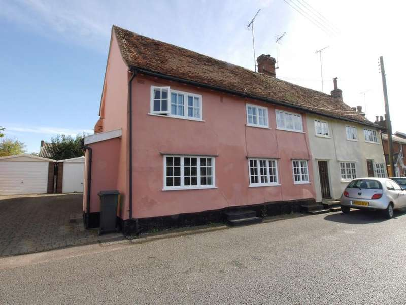 3 Bedrooms Cottage House for sale in 32 Bridge Street, Hadleigh, Ipswich, Suffolk, IP7 6DB