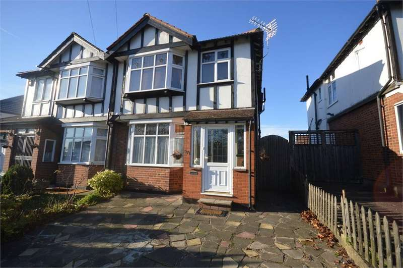 3 Bedrooms Semi Detached House for sale in St Albans Road, Garston, Hertfordshire, WD25