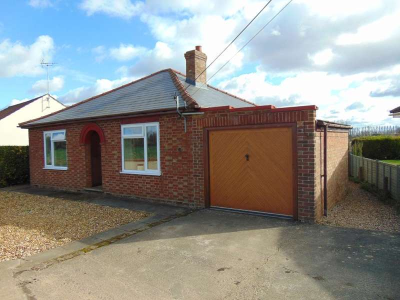 2 Bedrooms Detached Bungalow for sale in Dovecote Road, Upwell, Wisbech, Cambridgeshire, PE14 9HB
