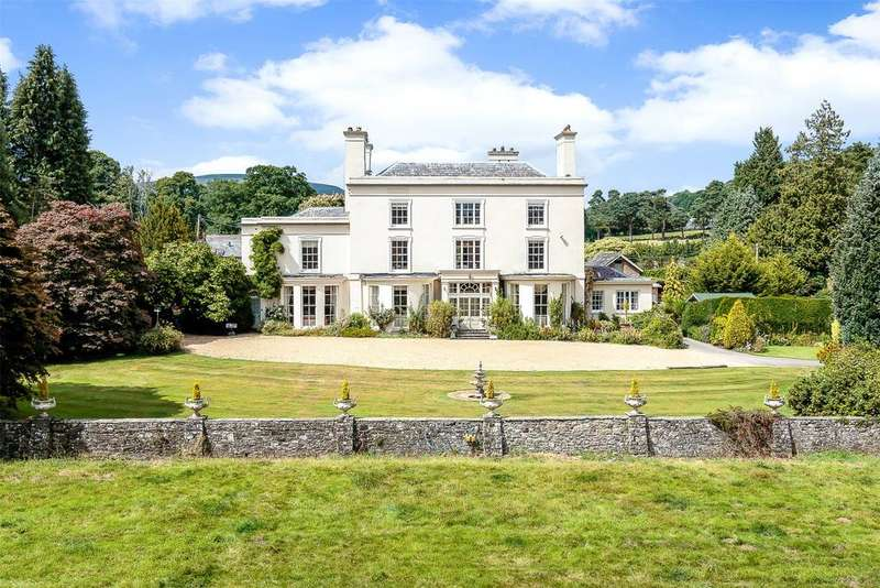 9 Bedrooms Detached House for sale in Glangrwyney, Crickhowell, Powys
