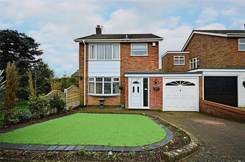 3 Bedrooms Link Detached House for sale in Halston Road, Burntwood