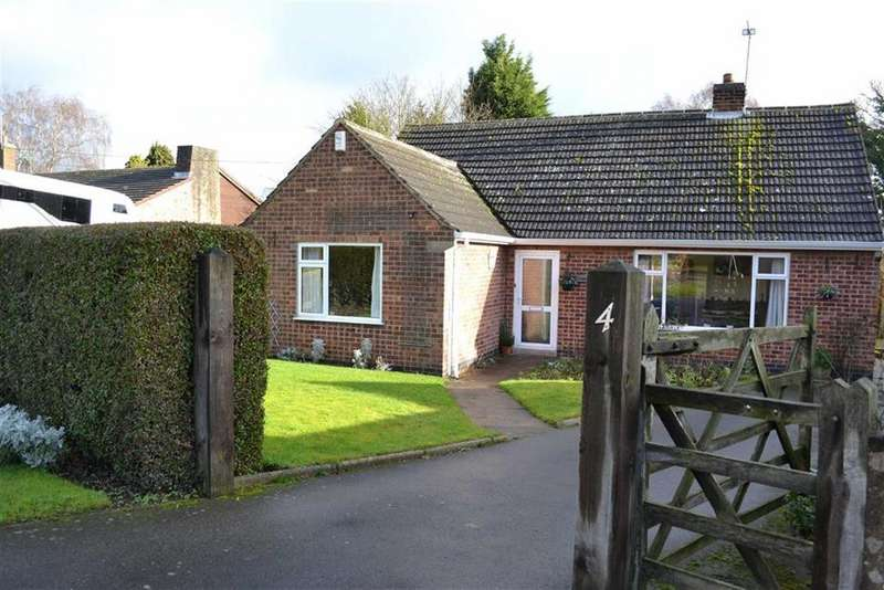 3 Bedrooms Detached Bungalow for sale in Kirkby Mallory