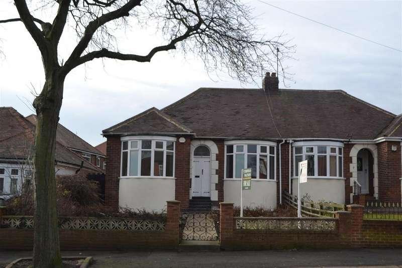 2 Bedrooms Semi Detached Bungalow for sale in Barnes Park Road, Sunderland