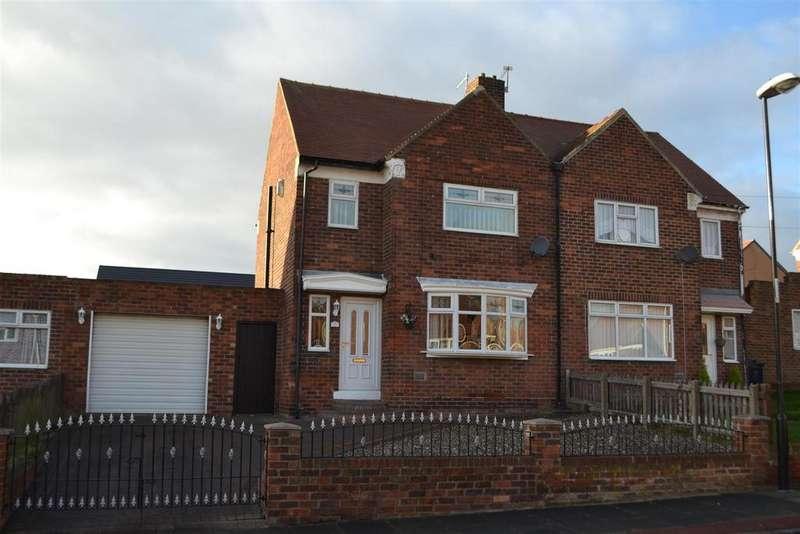 3 Bedrooms Semi Detached House for sale in Bevan Avenue, Sunderland