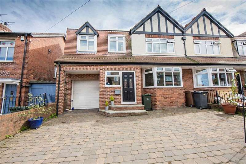 6 Bedrooms Semi Detached House for sale in Parkside Crescent, Tynemouth, Tyne And Wear, NE30