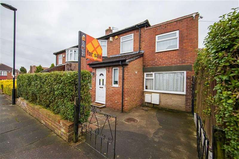 5 Bedrooms Semi Detached House for sale in Cumberland Walk, Heaton, Newcastle Upon Tyne, NE7