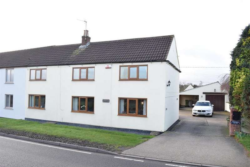 3 Bedrooms Semi Detached House for sale in Honeysuckle Cottage, Gorsethorpe Cottages