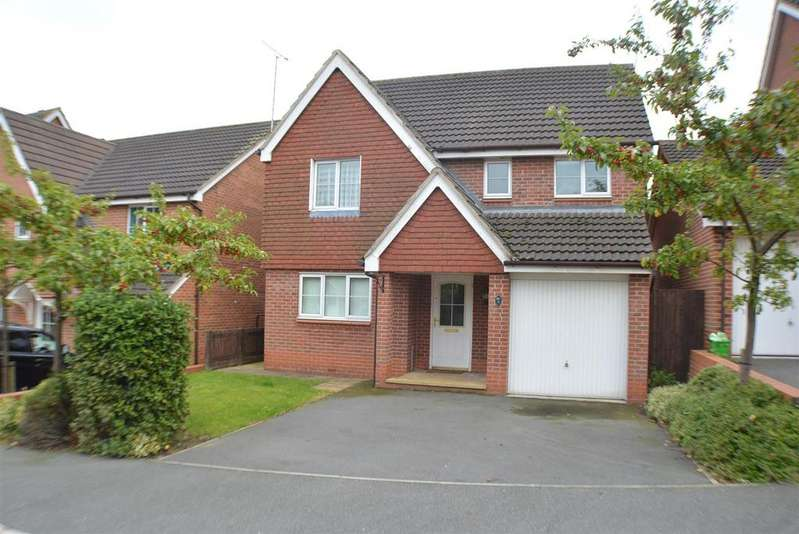 4 Bedrooms Detached House for sale in Emmerson Drive, Kings Clipstone, Mansfield