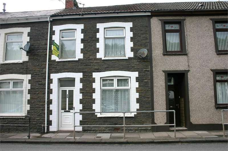 4 Bedrooms Terraced House for sale in Belgrave Terrace, Pont-Sion-Norton, Pontypridd, Mid Glamorgan