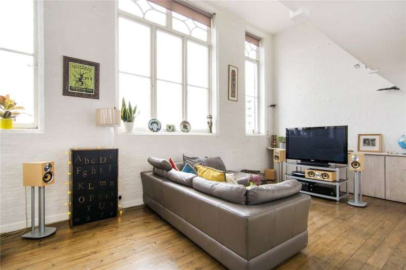 2 Bedrooms Flat for sale in Bow Brook House, Gathorne Street, London, E2
