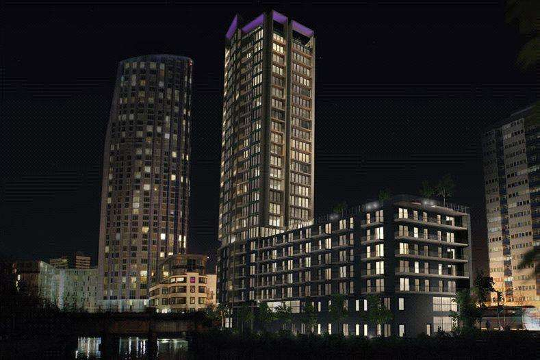 1 Bedroom Flat for sale in Stratford Riverside, 80-82 High Street, London, E15