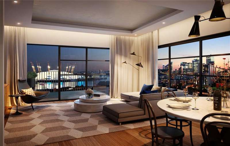 2 Bedrooms Apartment Flat for sale in London City Island, Docklands, E14