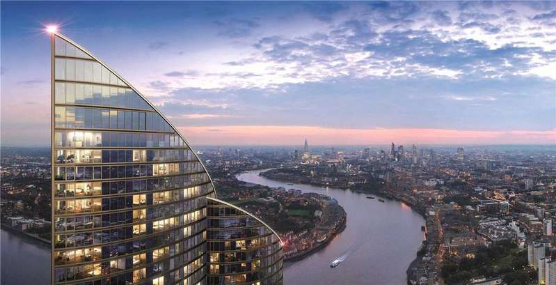 2 Bedrooms Apartment Flat for sale in Spire London, Hertmere Road, E14