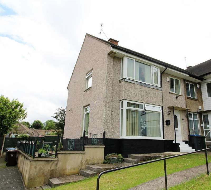 3 Bedrooms End Of Terrace House for sale in Parkstone Drive, Bradford, BD10 8BG