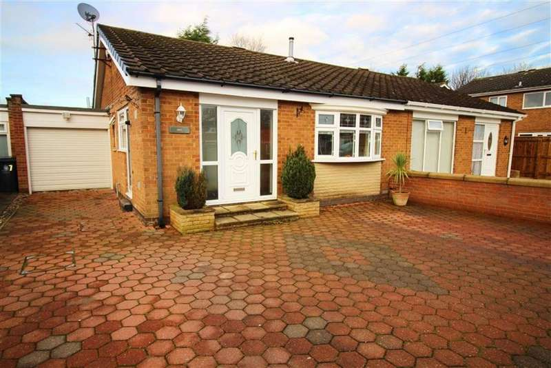 2 Bedrooms Semi Detached Bungalow for sale in Hornsea Close, Newcastle Upon Tyne, NE13