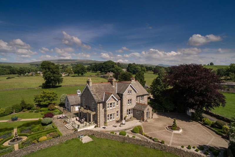 7 Bedrooms Detached House for sale in Mayfield House, Leck, Nr Kirkby Lonsdale, Lancashire, LA6 2HZ