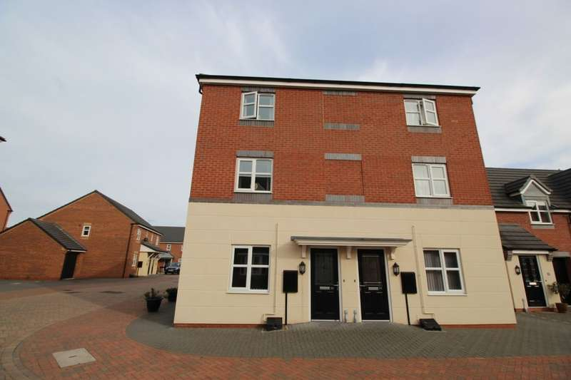 2 Bedrooms Flat for sale in Jeque Place, Burton-On-Trent, DE13