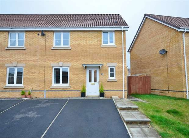 3 Bedrooms Semi Detached House for sale in Skomer Island Way, CAERPHILLY
