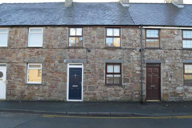 2 Bedrooms Terraced House for sale in Irby Place, Brynsiencyn, North Wales