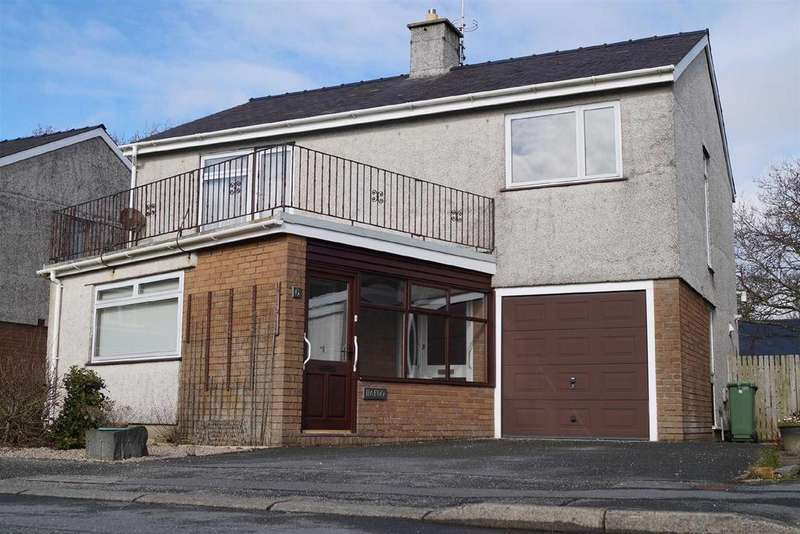 4 Bedrooms Detached House for sale in Lon Ceredigion, Pwllheli