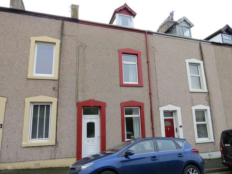 3 Bedrooms Terraced House for sale in Commodore Street, Bransty, Whitehaven, Cumbria