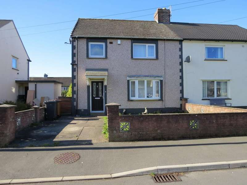 3 Bedrooms Semi Detached House for sale in Buckle Avenue, Cleator Moor, Cumbria