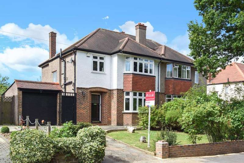 3 Bedrooms Semi Detached House for sale in Pickhurst Park, Bromley, BR2