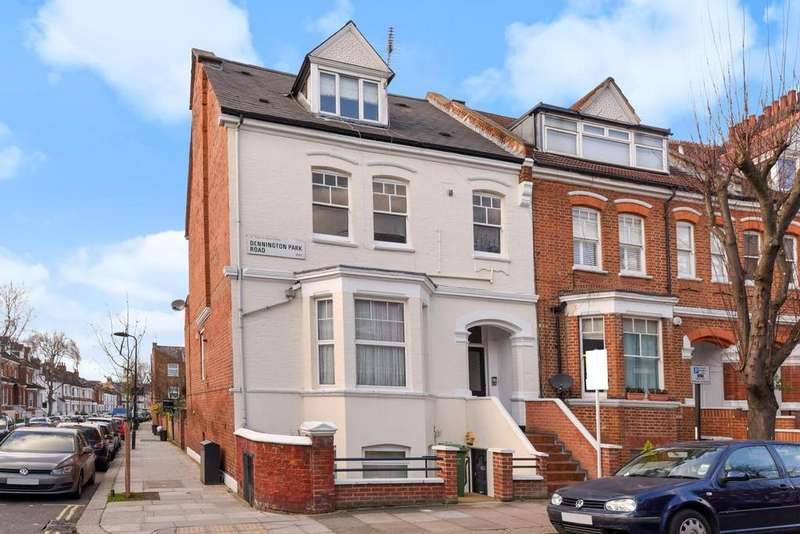 3 Bedrooms Flat for sale in Dennington Park Road, West Hampstead, NW6