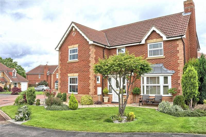 4 Bedrooms Detached House for sale in Hammond Close, Marton