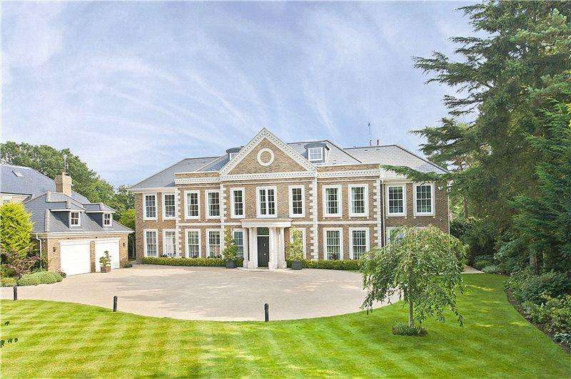 6 Bedrooms Detached House for sale in Eriswell Road, Burwood Park, Walton-on-Thames, Surrey, KT12