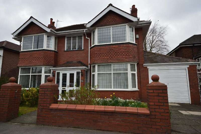 4 Bedrooms Detached House for sale in Kingsway, Gatley