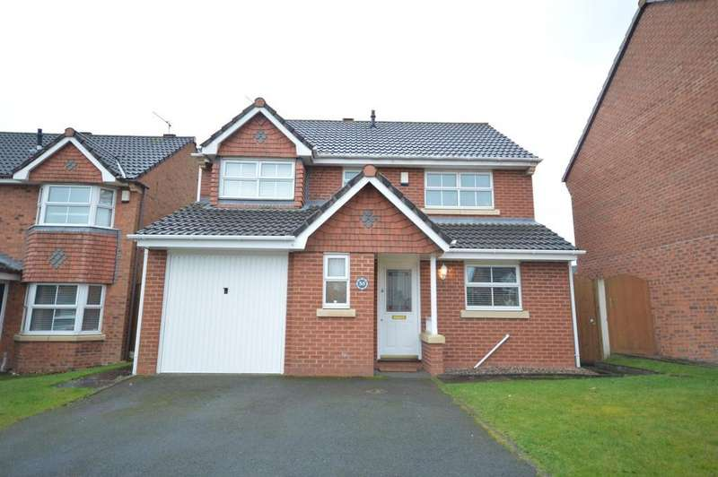 4 Bedrooms Detached House for sale in Chatteris Park, Sandymoor