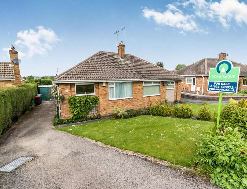 2 Bedrooms Semi Detached Bungalow for sale in Glebe Street, Kirkby-In-Ashfield, Nottingham, NG17