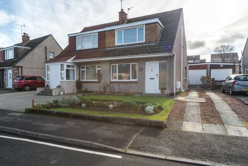 3 Bedrooms Semi Detached Bungalow for sale in Weavers Knowe Crescent, Currie, Edinburgh, EH14 5PR