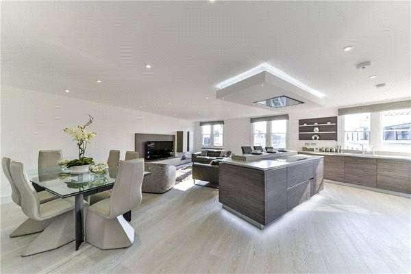2 Bedrooms Apartment Flat for sale in Cleveland Square, London, W2