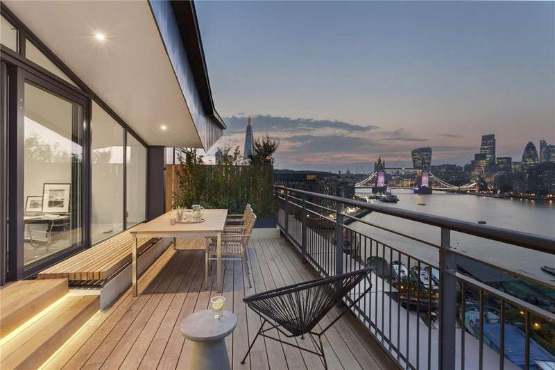 3 Bedrooms Penthouse Flat for sale in Providence Tower, Bermondsey Wall West, London, SE16