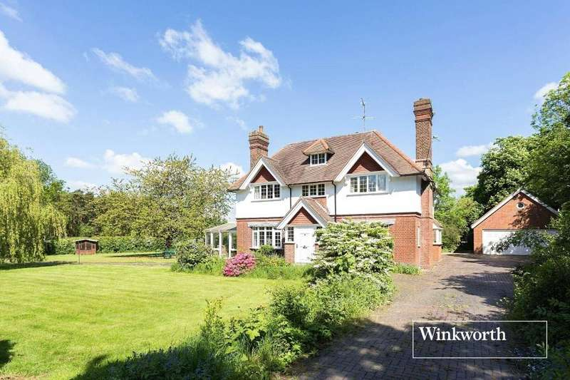 5 Bedrooms Detached House for sale in Tollgate Road, Colney Heath, AL4