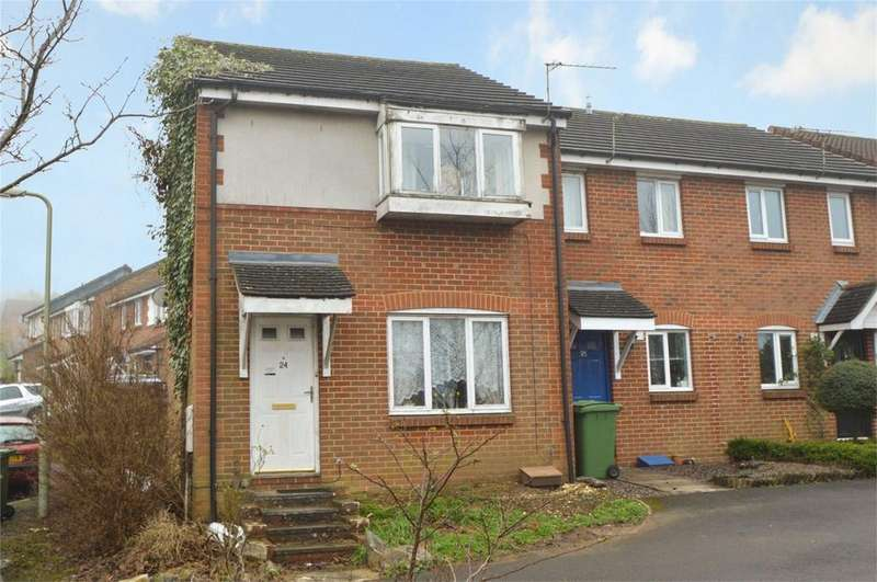 3 Bedrooms End Of Terrace House for sale in Tillington Gardens, Clanfield, WATERLOOVILLE, Hampshire