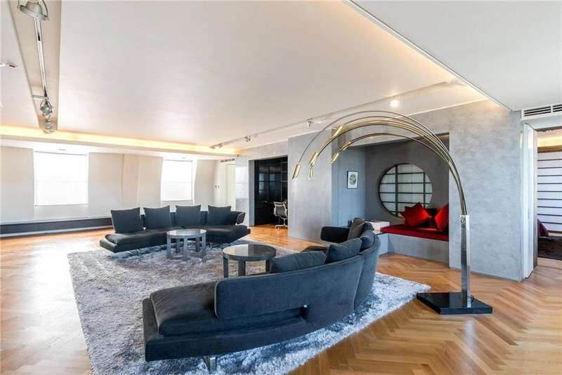 3 Bedrooms Penthouse Flat for sale in Luxborough Street, Marylebone, London, W1U