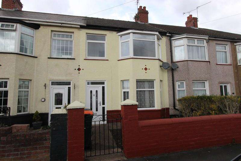 3 Bedrooms Terraced House for sale in Conway Road, Newport, Newport. NP19 8JU