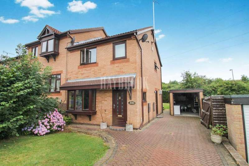 3 Bedrooms Semi Detached House for sale in Fenton Fields, Kimberworth