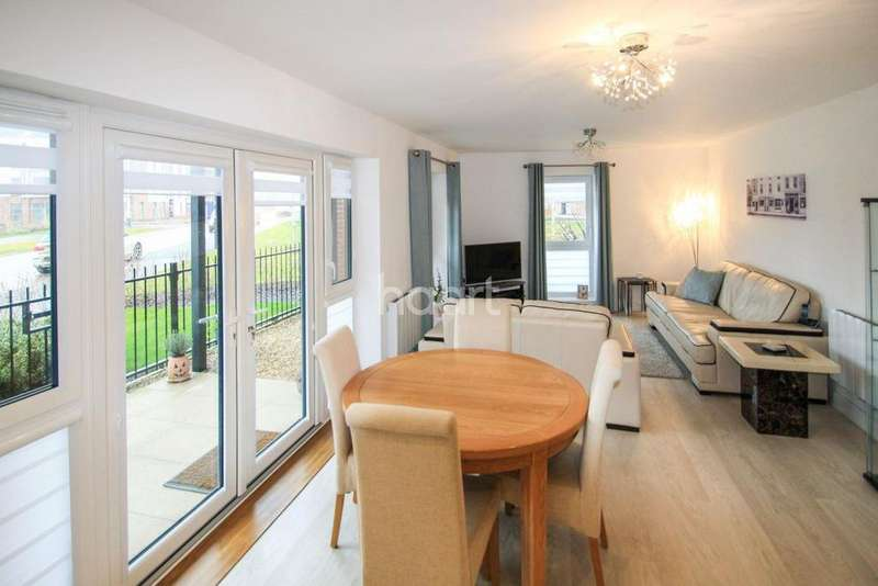 2 Bedrooms Flat for sale in Oakgrove Village
