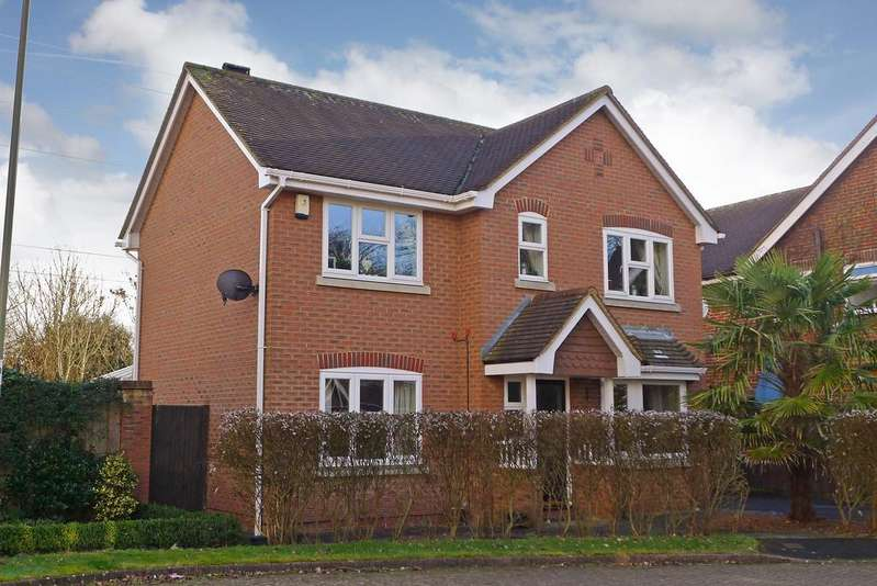 3 Bedrooms Detached House for sale in PEACOCK CLOSE, FAREHAM