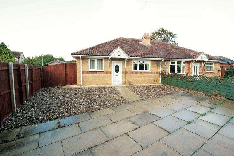 2 Bedrooms Semi Detached Bungalow for sale in Coppice Road, Marton Grove, Middlesbrough, TS4 2SP