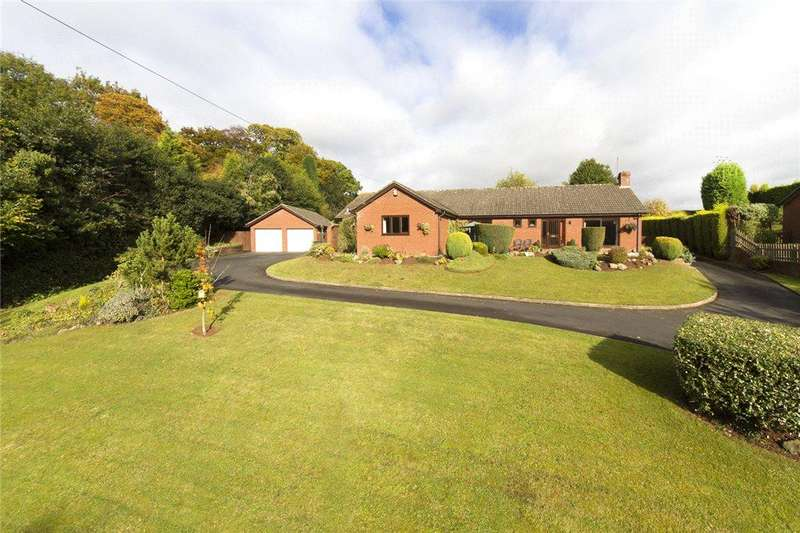 4 Bedrooms Detached Bungalow for sale in Inn Lane, Hartlebury, Worcestershire, DY11