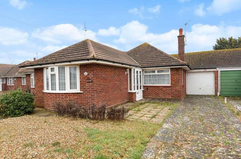 2 Bedrooms Detached Bungalow for sale in Lane End Road, Middleton-on-Sea, Bognor Regis, PO22