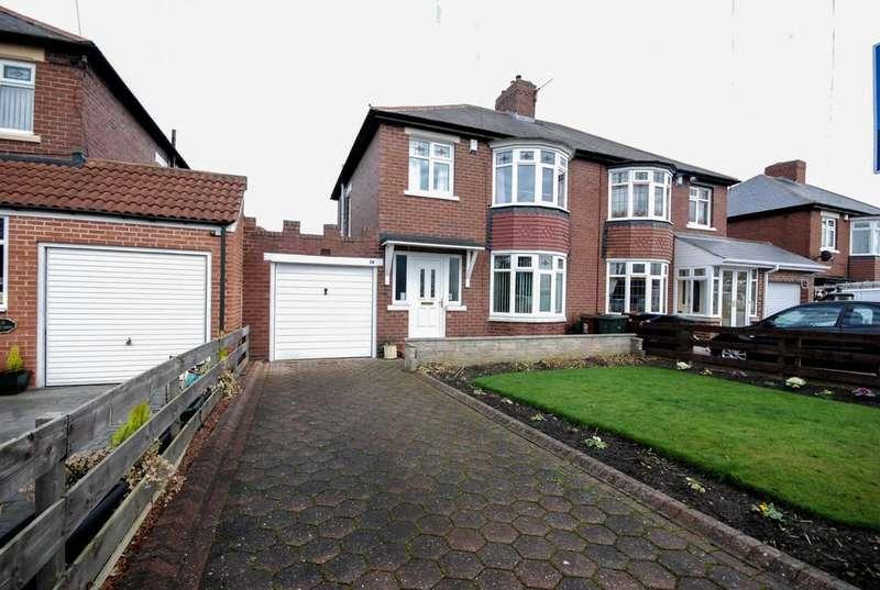 3 Bedrooms Semi Detached House for sale in Westlands, West Denton